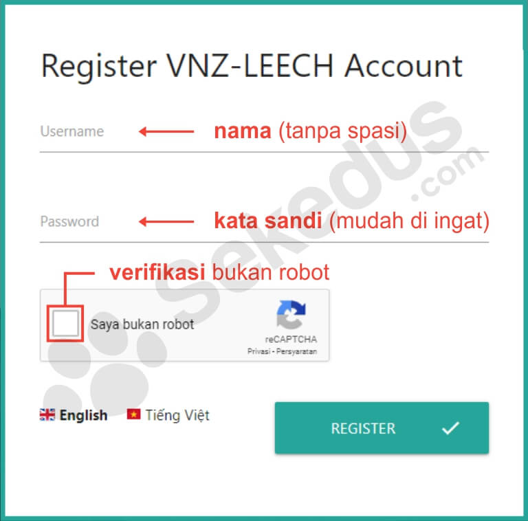 cara download uptobox: daftar akun vnz-leech.com