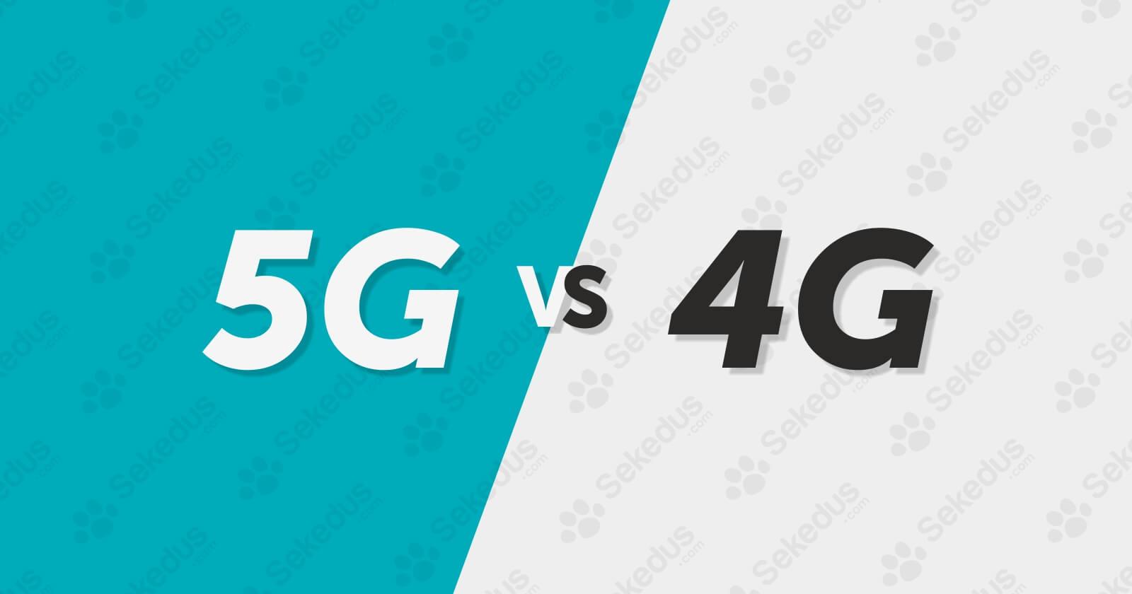 Perbedaan Teknologi 5G dan 4G